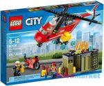 LEGO CITY: Sürgősségi tűzoltó egység 60108