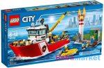 LEGO CITY: Tűzoltóhajó 60109