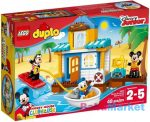 LEGO DUPLO: Mickey és barátai tengerparti háza 10827