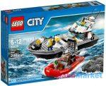 LEGO CITY: Rendőrségi járőrcsónak 60129