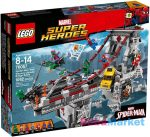 LEGO SUPER HEROES: Pókember: Pókháló-harcosok utolsó csatája a hídon 76057