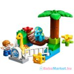 Lego duplo állatkert - Szelíd óriások állatkerti simogatója 10879