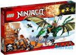 LEGO NINJAGO: A Zöld NRG sárkány 70593
