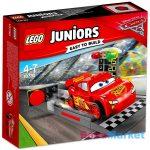 LEGO Juniors: Villám McQueen versenyautó indítója 10730