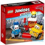 LEGO Juniors: Guido és Luigi boxutcája 10732
