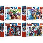Marvel bosszúállók: 54 db-os mini puzzle - többféle