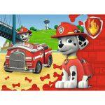 Mancs őrjárat: Vészhelyzeti járművek minimaxi puzzle 20 darabos - többféle
