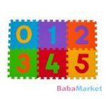 habtapi - BabyOno szivacspuzzle szőnyeg számok 6 db