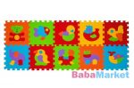 habtapi - babyOno szivacspuzzle szőnyeg állatok