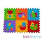 BabyOno szivacspuzzle szőnyeg állatok 6 db 277