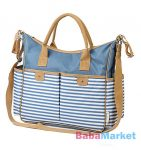 pelenkázó táska - Babyono So City - kék