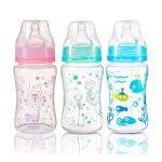 BabyOno cumisüveg műanyag  szélesnyakú anticolic 240ml