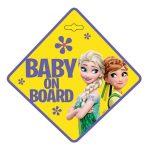 Seven Polska tábla baby on board Frozen