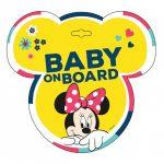 Seven Polska tábla baby on board Minnie