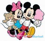 Marko Habszivacs falidekor Mickey és Minnie fagyizik SRMK-0015
