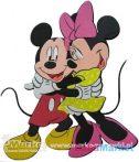 Marko Habszivacs falidekor Mickey és Minnie ölelkezik SRMK-0016