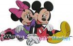 Marko Habszivacs falidekor Mickey és Minnie SRMK-0020