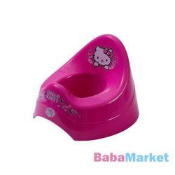 Hello Kitty rózsaszín zenélő bili