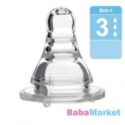 Baby Ono anticolic etetőcumi szil 6m 1202 /H/