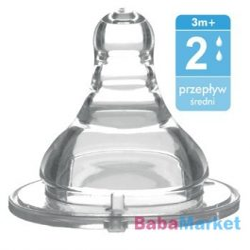 Baby Ono anticolic etetőcumi szil széles 3m 1205