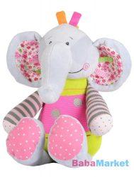 BabyOno plüss csörgő elefánt 30cm