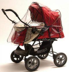 Babakocsi esővédő - Tanita 2 funkciós babakocsihoz