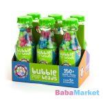Bead Bazaar Gyöngy palack 1 db - zöld citrom