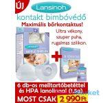 Lansinoh mellbimbóvédő - 2 db ajándék 6db-os melltartóbetét