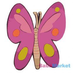 Falidekor Pillangó 21x19 cm