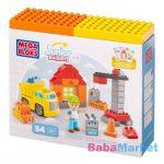 Mega Bloks Junior Builders építődoboz - Építkezés készlet