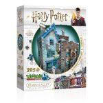 Harry Potter: Ollivander pálca boltja 3D puzzle
