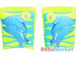 Bestway karúszó 23x15 cm - zöld delfin