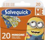 Salvequick Minions sebtapasz 20db