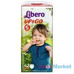 Libero Up&Go 5 bugyipelenka, 10-14 kg, 42 db