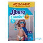 Libero Mega pack 5 Maxi plus 80db slim fit pelenka