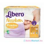 Koraszülött pelenka - Libero Newborn Premature pelenka 0-2,5 kg 24db