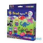 Playbox Gyöngykép figurák, 2000 db - maci, dínó, cica