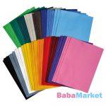 Playbox Filc lapok, 18 szín, 30x20 cm, 54 db