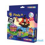 Playbox Gyöngykép figurák, 2000 db - kalózok