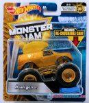 monster jam - mohawk warrior - hot wheels játékok