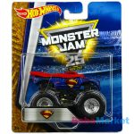 Hot Wheels Monster Jam kisautó Superman
