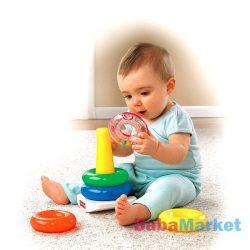 Fisher Price Játékok - Színes Gyűrűpiramis