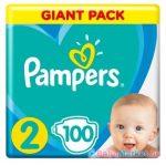 Pampers Giant pelenka mini 100-db-os 2