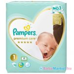 Pampers Premium Care pelenka newborn 78db-os 1