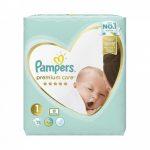 Pampers Premium Care pelenka newborn
