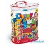 készségfejlesztő babajáték - clemmy plus építőkockák 60 db