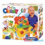 Clemmy Baby Puha, bébi építőjáték szett - Kutyusos szék (17114)