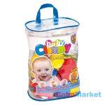 Babajáték - Clemmy Baby Építőkockák 48db