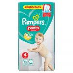 Pampers Pants 4 Jumbo Pack bugyipelenka 9-15kg 52db