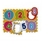 Chicco Puzzle szőnyeg 6 db-os Számok mosható habszivacs